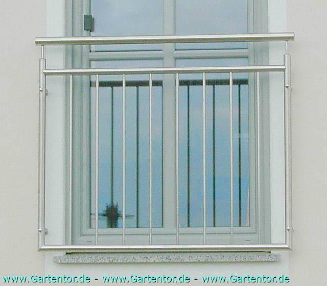 Französischer Balkon Aus Edelstahl