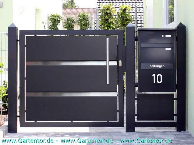 gartentor nabcd. Black Bedroom Furniture Sets. Home Design Ideas