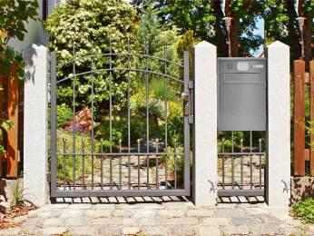 Gartentore Metall - Gartentore bei Gartentor.de online kaufen